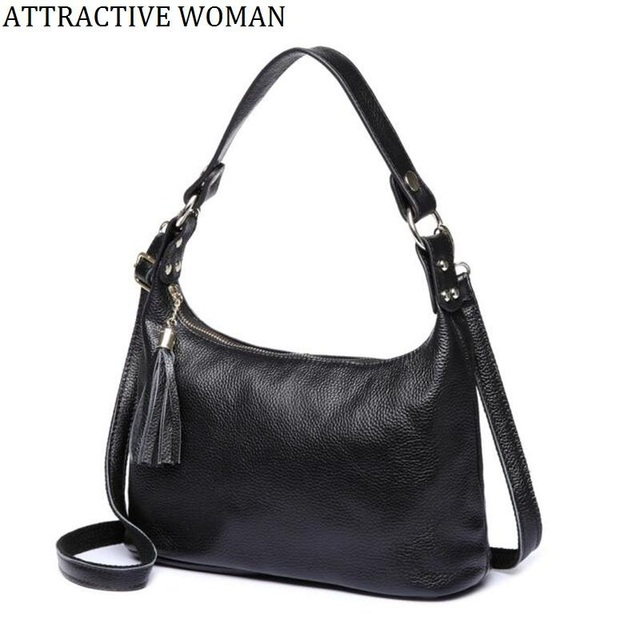 0a3c79afc7 100% Genuine Leather Women Bags Famous Brand Shoulder Bags Designer cowhide  Handbags High Quality Ladies