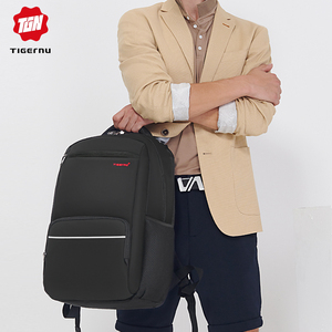 Image 5 - Tigernu marque Anti vol 15.6 pouces hommes ordinateurs portables dentreprise sac à dos USB Charge hommes Mochila sac à dos étanche sac décole pour les adolescents