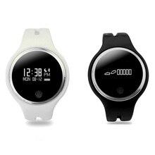 E07 Bluetooth Smart Браслет часы наручные часы умный группа браслет с Шагомер сна трекер Смарт Браслет Для Xiaomi IOS