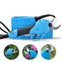 Бесплатная доставка садовые электроинструменты 36 В литий ионная батарея электрические секаторы 30 мм бонсай инструмент Profesional филиал Резак