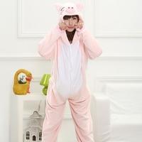 Funny Whole Pajamas Adults Sloth Onesies Flannel Kigurumi Pink Mcdull One Piece Sleepwear Cute Home Jumpsuit