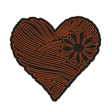 Heart Carbon steel Cutting Dies Stencil Craft for DIY Creative Scrapbook Cut Stamps Dies Embossing Paper Hand Craft 1PC hand bag carbon steel cutting dies stencil craft for diy creative scrapbook cut stamps dies embossing paper hand craft