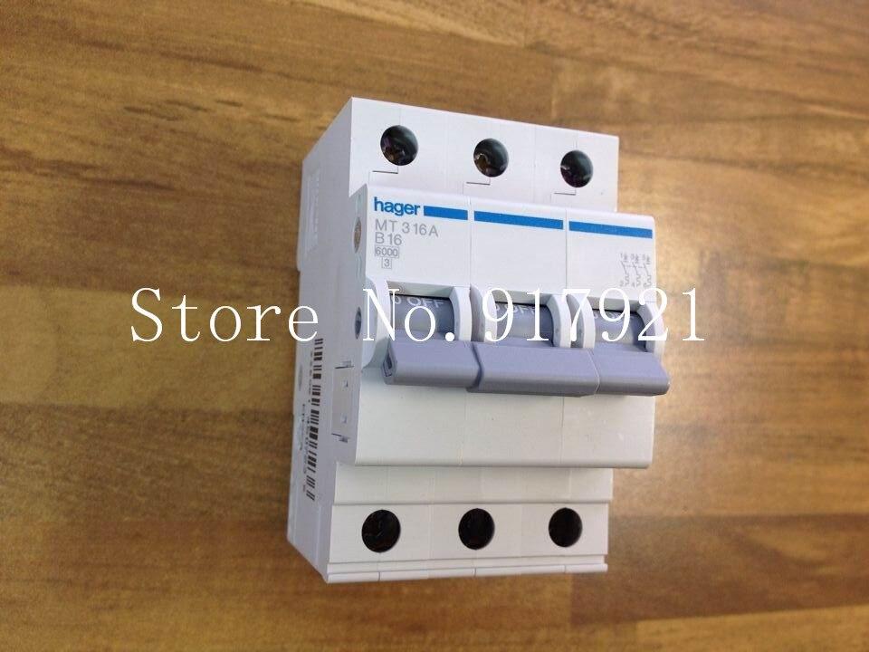 [ZOB] Hagrid MT316A B16 circuit breaker MC316P NC316P 3P16A imported miniature circuit breaker  --5pcs/lot пудра mc nc de teint poudre 15g 1pcs lot 001