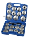23 PCS CUP TYPE OIL FILTER WRENCH SET