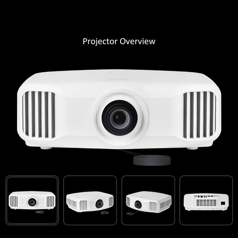 Cre X8000 2 Karat 3d Android Projektor Volles Hd 1920*1200 Bluetooth Hallo-fi Lautsprecher 3 Gb/16 Gb Overhead Projektor Heimkino Einfach Zu Verwenden Heim-audio & Video