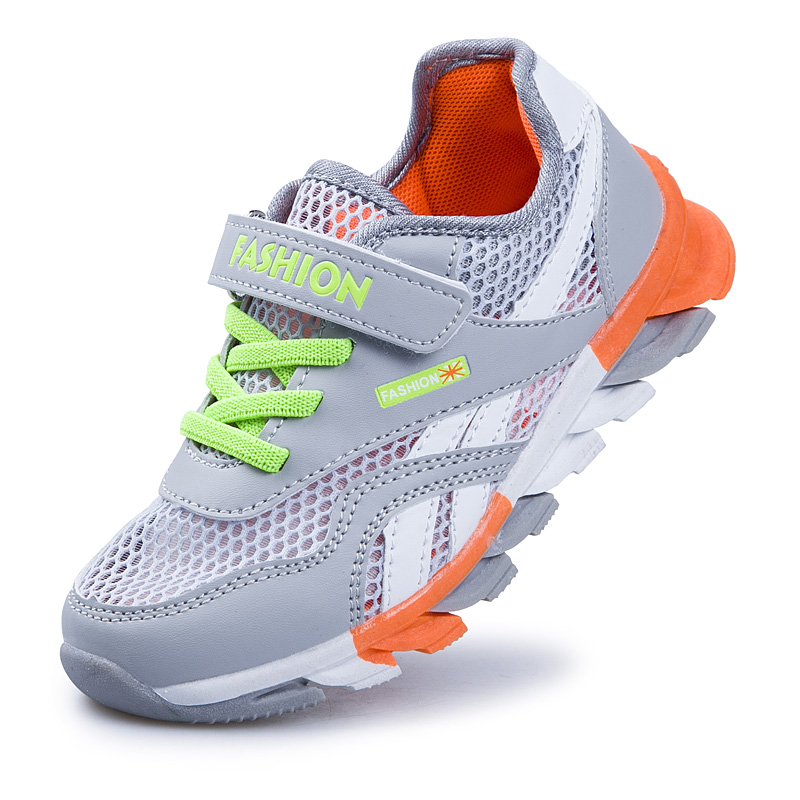 Kids Running Sport Shoes Comfortable Athletic Sneakers Trainers for Boys Girls Children's Outdoor Walking Shoes Mesh Breathable