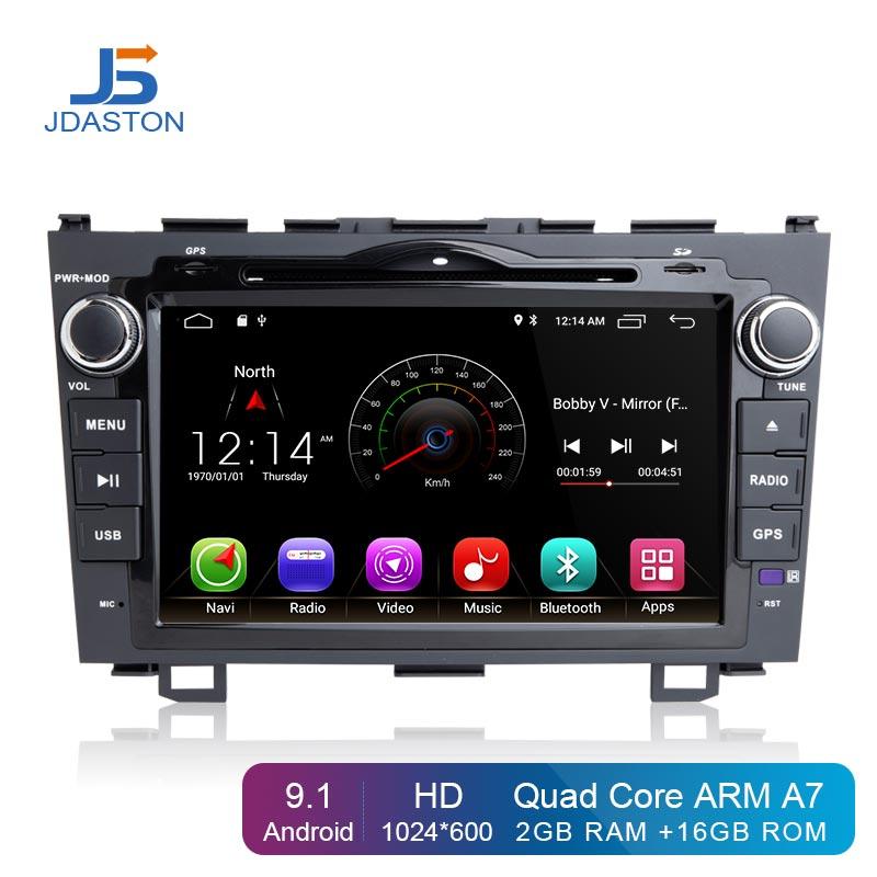 JDASTON Android 8.1 Car Multimedia Player Per Honda CRV CR-V CR V 2007-2011 2 Din Auto Radio GPS DVD di navigazione 2G + 16G IPS WIFIJDASTON Android 8.1 Car Multimedia Player Per Honda CRV CR-V CR V 2007-2011 2 Din Auto Radio GPS DVD di navigazione 2G + 16G IPS WIFI
