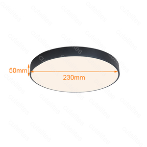 Image 2 - 2019 New High Quality Surface Mounted Motion Sensor/Radar Human induction Acrylic led ceiling lights Fixtures  Dropship