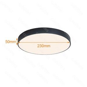 Image 2 - Luminárias de led acrílico para teto, montagem superfície de alta qualidade com sensor de movimento/radar, indução humana, dropship, novo, 2019