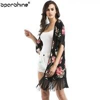 Women Printing Chiffon Blouse Long Sleeve Lady Casual Womens Tops And Mousseline De Soie Blusa Feminina