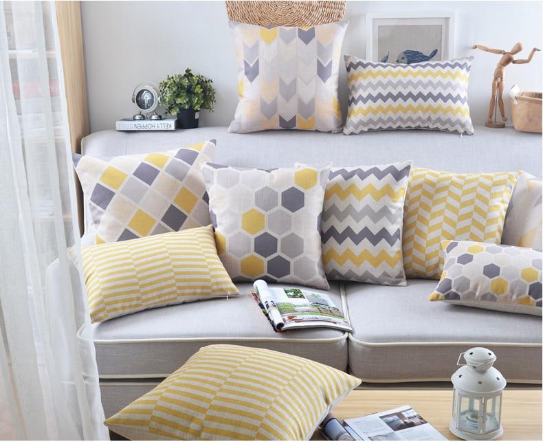 Achetez en gros jaune coussin en ligne des grossistes jaune coussin chinois - Canape gros coussins ...