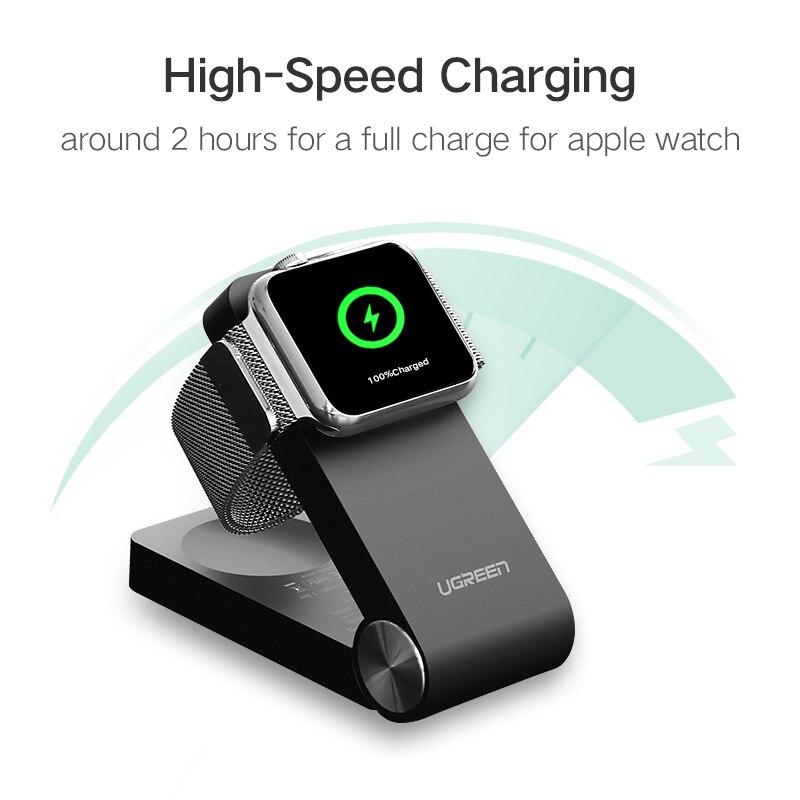 0dd9e20ba52 Cargador inalámbrico Ugreen para Apple Watch cargador plegable MFi cargador  certificado 1,2 m Cable para Apple Watch Series 4/ 3/2/1 cargador en  Cargadores ...