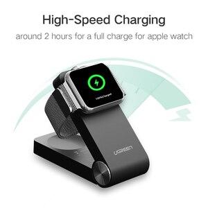 Image 3 - Беспроводное зарядное устройство Ugreen для Apple Watch, складная сертифицированная MFi зарядка, кабель 1,2 м для Apple Watch Series 4/2/1