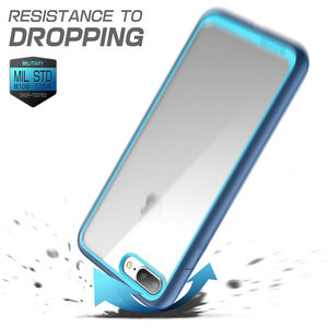 Image 5 - Supcase para iphone 7 plus caso (2016 de liberação) ub estilo premium fino híbrido protetor pára tpu clara capa traseira caso
