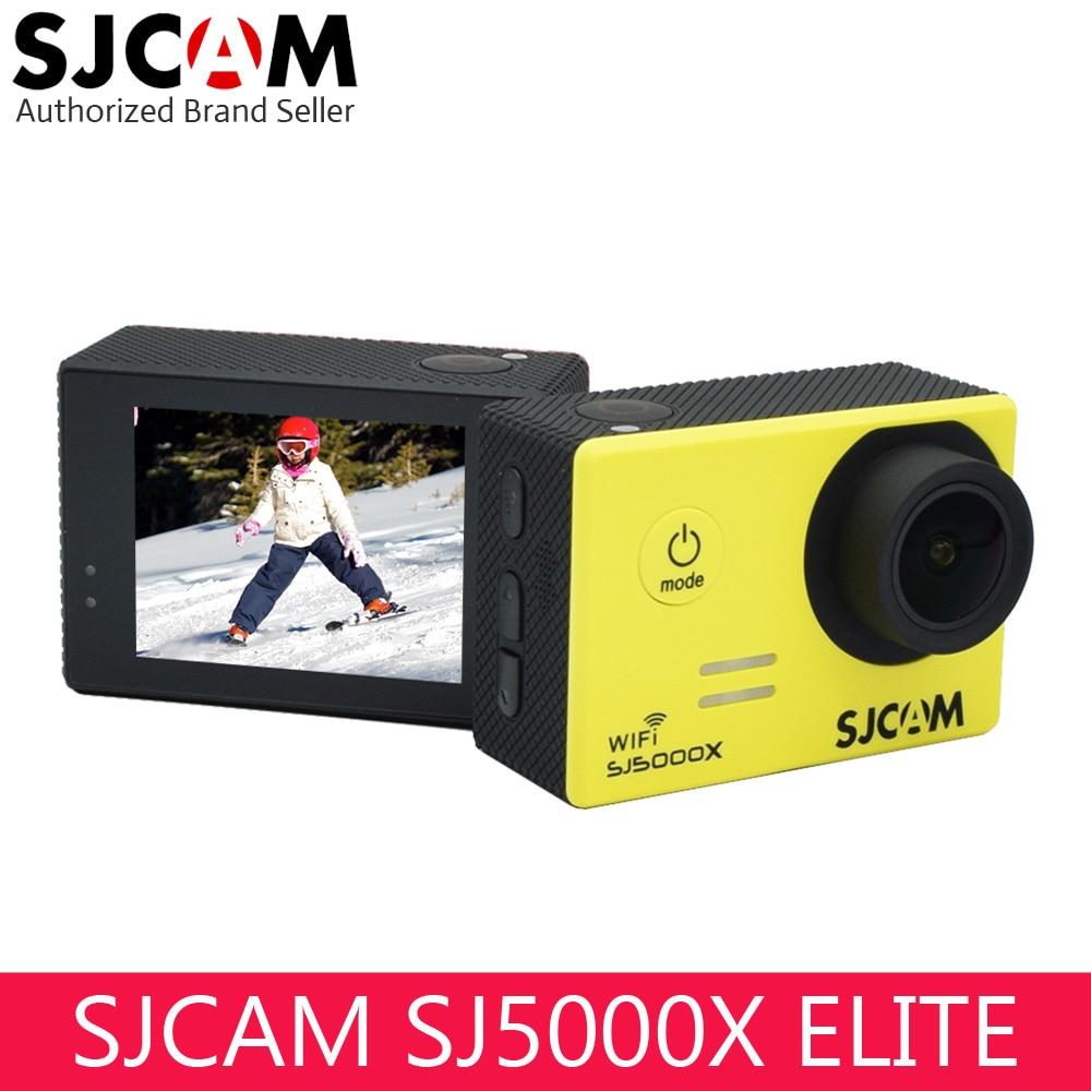 D'origine SJCAM SJ5000X Elite Wifi 4 K caméra d'action Gyro Ultra HD Étanche Plongée En Plein Air Mini Sport DV