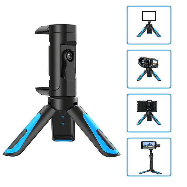 APEXEL 360 Rotation Vertical Shooting 2 in 1 Mini Tripod Phone Mount Holdr for iPhone Xs Max Xs X 8 7 Plus Samsung S8 S9 1