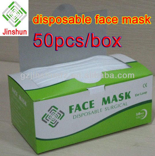 disposable face mask clk