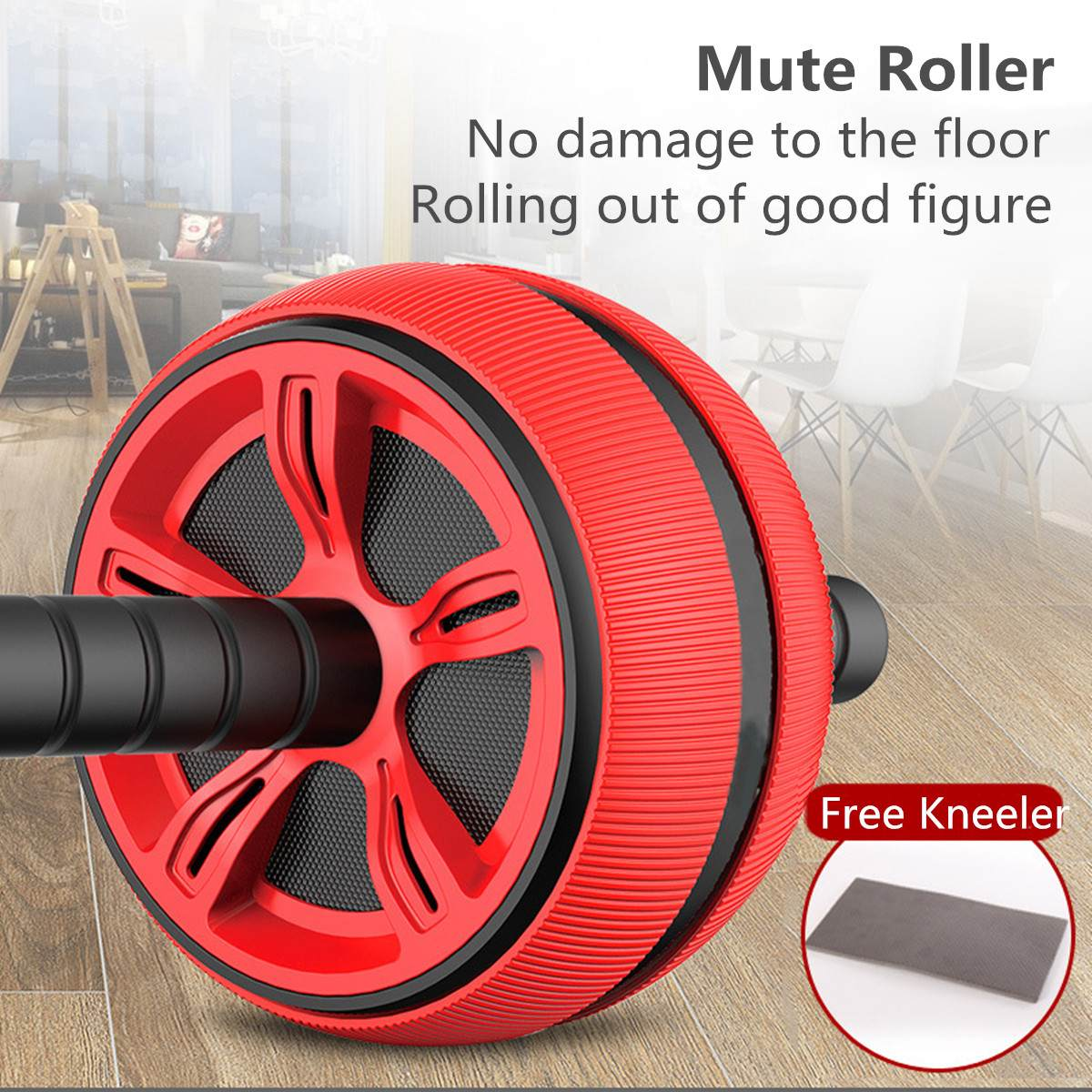 Abs Roller with Strong Bearing Capacity Ideal for burning Extra Calories from Arms Back and Belly 1