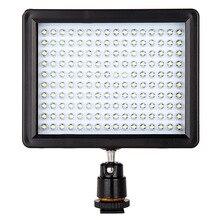 Lámpara WanSen W160 LED de Vídeo Luz de La Cámara DV De La Cámara 7.5 V 10.5 W Envío de La Gota Al Por Mayor 160LED