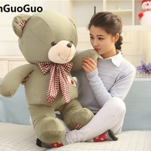 dd2252fa759 Brinquedo de pelúcia grande 80 cm verde encantador ursinho de pelúcia urso  de brinquedo de pelúcia