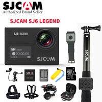SJCAM sj6 Легенда Камера 4 К 24fps Wi Fi Ultra HD notavek 96660 Водонепроницаемый действие Камера 2.0 Сенсорный экран Спорт DV лучше go Pro 5