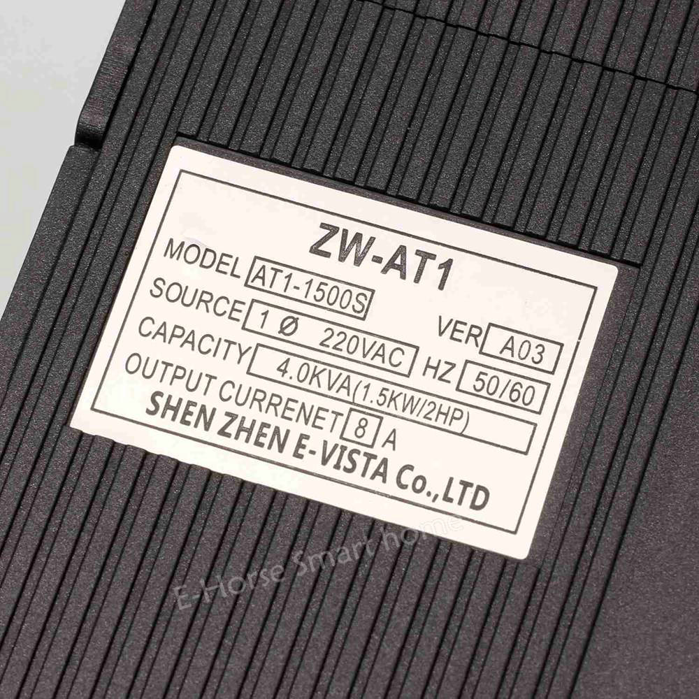 Image 5 - VFD 1.5KW/2.2KW/4KW CoolClassic frequency converter ZW AT1 3P 220V output Free Shipping VFD Inverter Frequency Inverter wcj3-in Inverters & Converters from Home Improvement