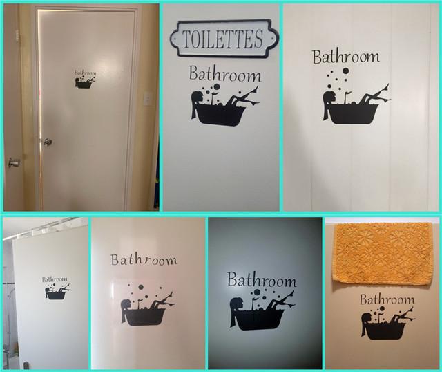 Bathroom Wall Sticker