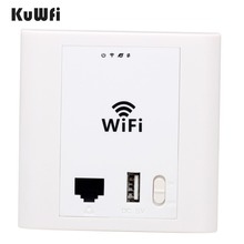 2 4Ghz 300Mbps In Wall AP Router Wifi Router Wifi Repeater Support PoE VLAN Access Controller