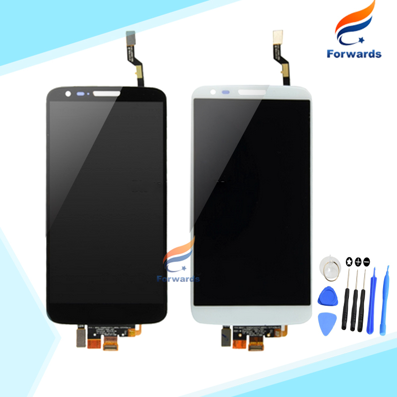 ФОТО 10pcs/lot DHL EMS free shipping Brand New LCD for LG Optimus G2 D802 D805 Screen Display with Touch Digitizer + Tools Assembly