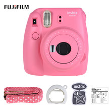 Fujifilm Instax Mini 9 Instant Film Camera + 50 Vellen Fujifilm Instax Mini Wit Film voor Fuji Fujifilm Instax Mini 9 Camera(China)