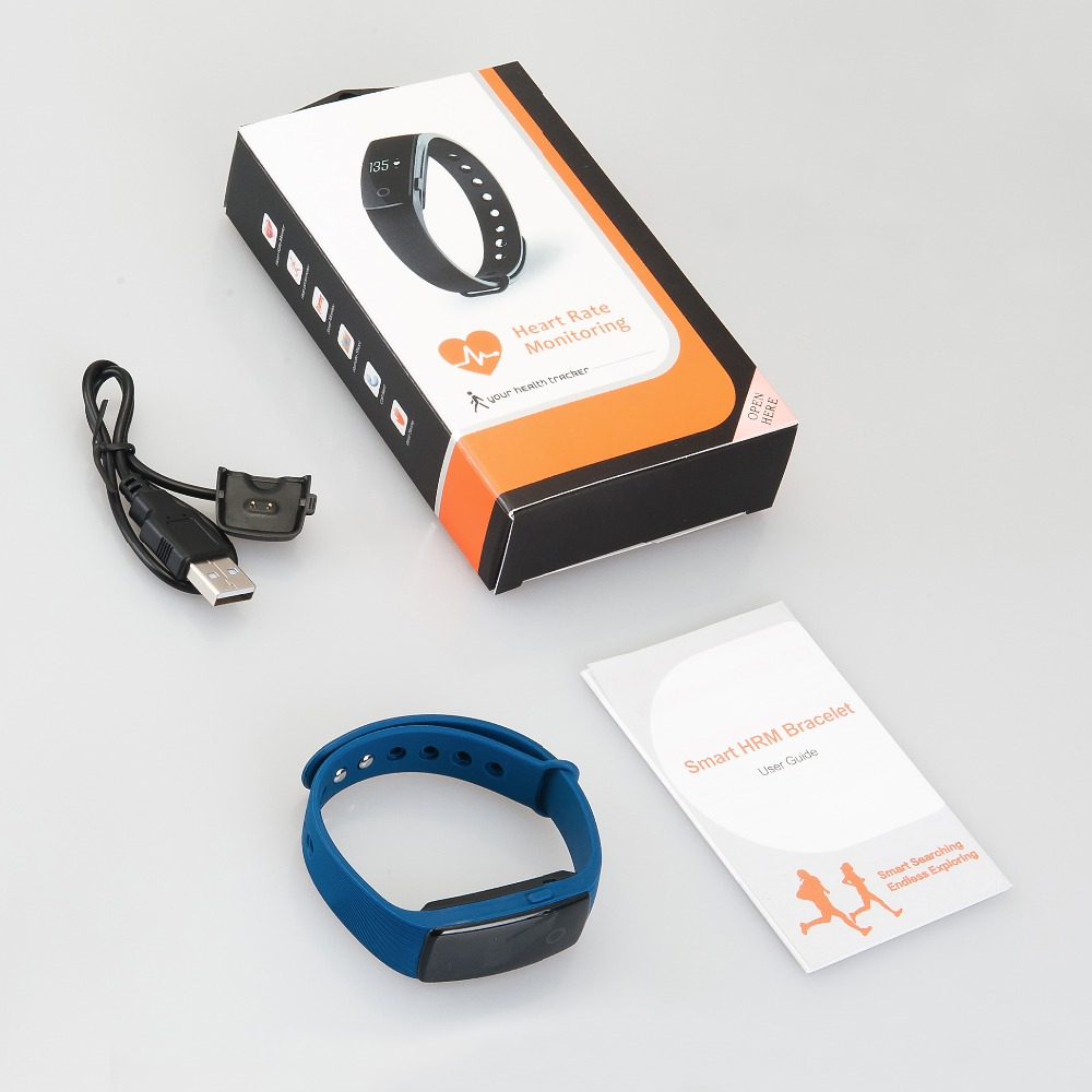 Smart Bracelet ID107 Smartband Heart Rate Monitor Wristband Fitness Tracker Smart Watch id107 for iOS Android