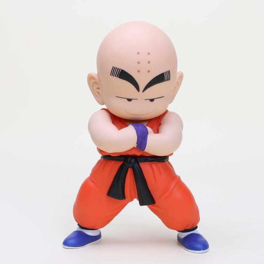 17 cm Anime Dragon Ball Kakarotto Son Goku Kuririn PVC Action Figure DragonBall Figura Toy