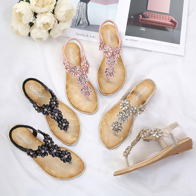 Gowinlin Summer Shoes Woman Sandals Female 2018 Leather Ladies Girls Platform Gladiator Sandals For Women Wedding Party Shoe ...