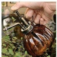 Decorativa de vidro ZAKKA multicor cobre antigo rega vidro dispositivo de rega ferramentas de jardim