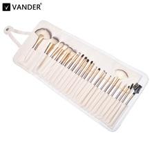 24/18/12pcs Professional Luxury Makeup Brushes Champagne Gold Make Up Brush Set Cosmetic Brush Beauty Maker pincel maquiagem