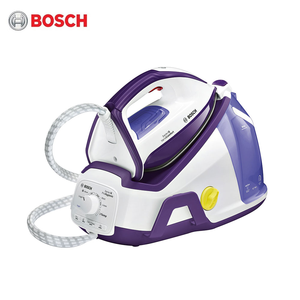 Electric Irons Bosch TDS6580 Steam stations SecureLock System Clean Easy CeraniumGlissee soleplate Auto-shut-off secure free shipping fuel shut off solenoid 3934177 sa 4697 24 24v