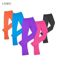 Pantalones de patinaje artístico para adultos de las señoras de los niños, pantalones de entrenamiento, tela de Spandex de alta elasticidad. Colores para elegir. Lindo y bonito.