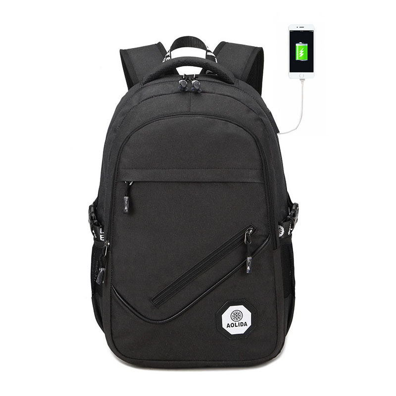 Men Backpack Youth Back To School Bagpack USB Teenage Backpacks For Teen Boys Back to School Backpack Male Bag Mochila Masculina