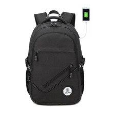 Men Backpack Youth Back To School Bagpack USB Teenage Backpacks For Teen Boys Back to School Backpack Male Bag Mochila Masculina