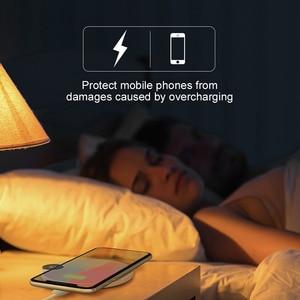 Image 5 - Baseus LED عرض تشى اللاسلكية شاحن آيفون 11 برو ماكس Xr X 10 واط USB سريع لاسلكي شحن الوسادة ل شاومي ميكس 3 سامسونج S9