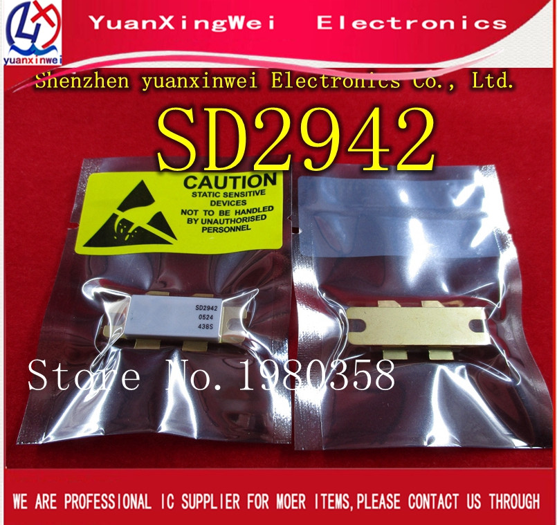 SD2942 RF Power Transistors HF/VHF/UHF N - Channel MOSFETs