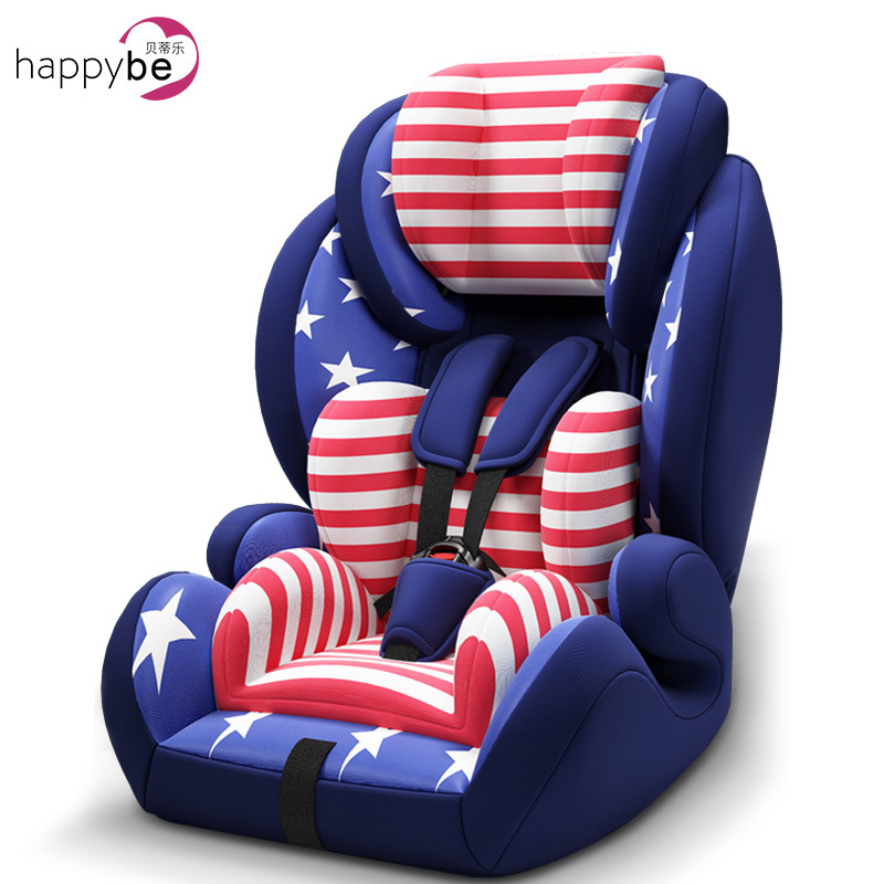 цена на ECE Certification Infant Baby Car Booster Seat Five-point Safety Harness Adjustable Backrest System Child Safety Car Seat 9M~12Y