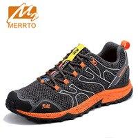 2017 MERRTO Marca Original Cojín de Aire Zapatos Corrientes de Los Hombres Zapatillas de Deporte Respirables Masculinos de Malla Atléticos Al Aire Libre Zapatos Chusion