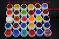2013 new 30 pearlescent nacre color UV Gel colored vu gel  For Nail Art uv gel nail polish sets   #30-3