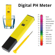 Portable Pocket Pen Water PH Meter Digital Tester Measure Range 0.0-14.0pH for Aquarium Pool Water Laboratory Soil ct 6021a portable pen type acid meter waterproof digital pocket ph measuring apparatus