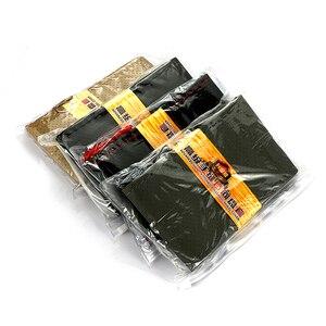 Image 3 - 車のステアリングホイールスイート編組カバー針と糸人工皮革カバーテクスチャソフトオートアクセサリーステアリングハンドル