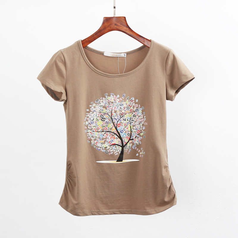 Summer clothing short sleeve t shirt female casual shirts for Best t shirts for summer