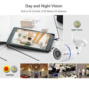 Image 3 - BESDER 1080P 960P 720P WIFI IP 카메라 야외 무선 감시 보안 카메라 Onvif P2P CCTV 카메라 TF 카드 슬롯 CamHi App