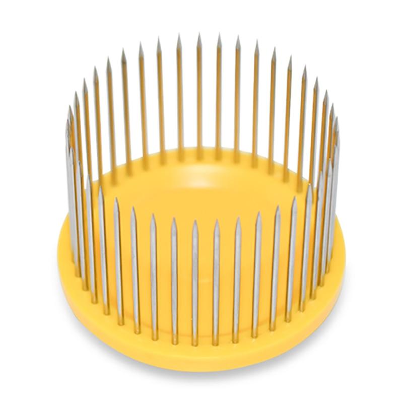 2Pcs/bag Bee Queen Cage Steel Needle Type Protective Cover Marker Cages Catcher Beekeeping Tools Equipment Beekeeper Supplies