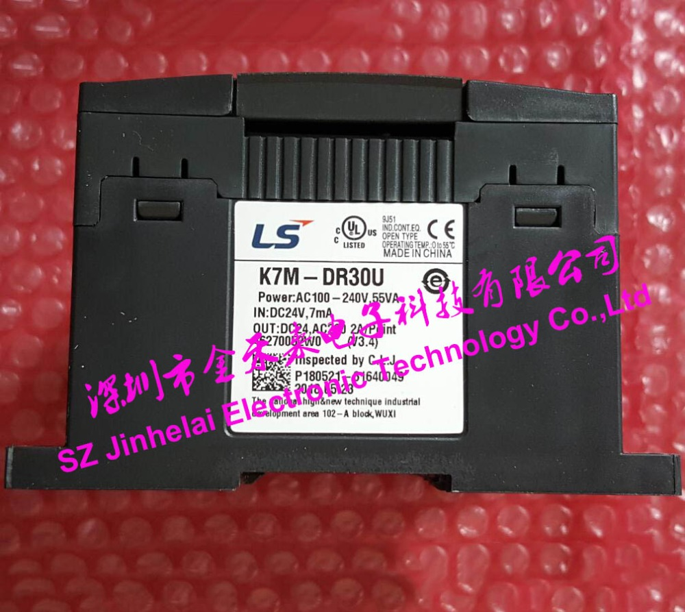K7M-DR30U Authentic original LS(LG) Plc controller,18 point input,Relay 12 point output все цены